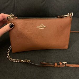 Coach Convertible Leather Cross Body